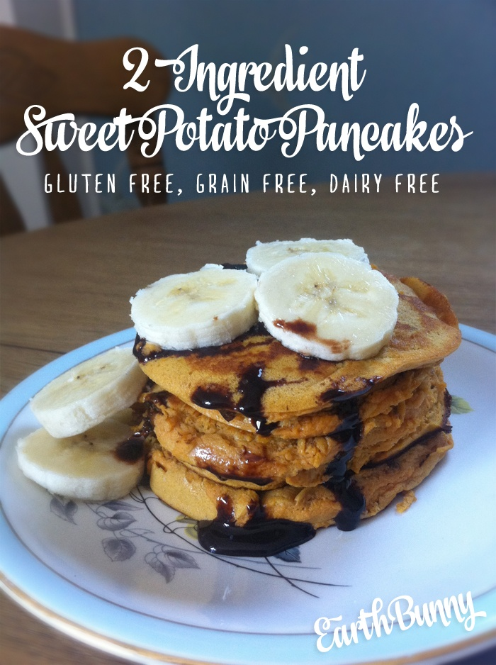 EarthBunnyRecipeSweetPotatoPancakes