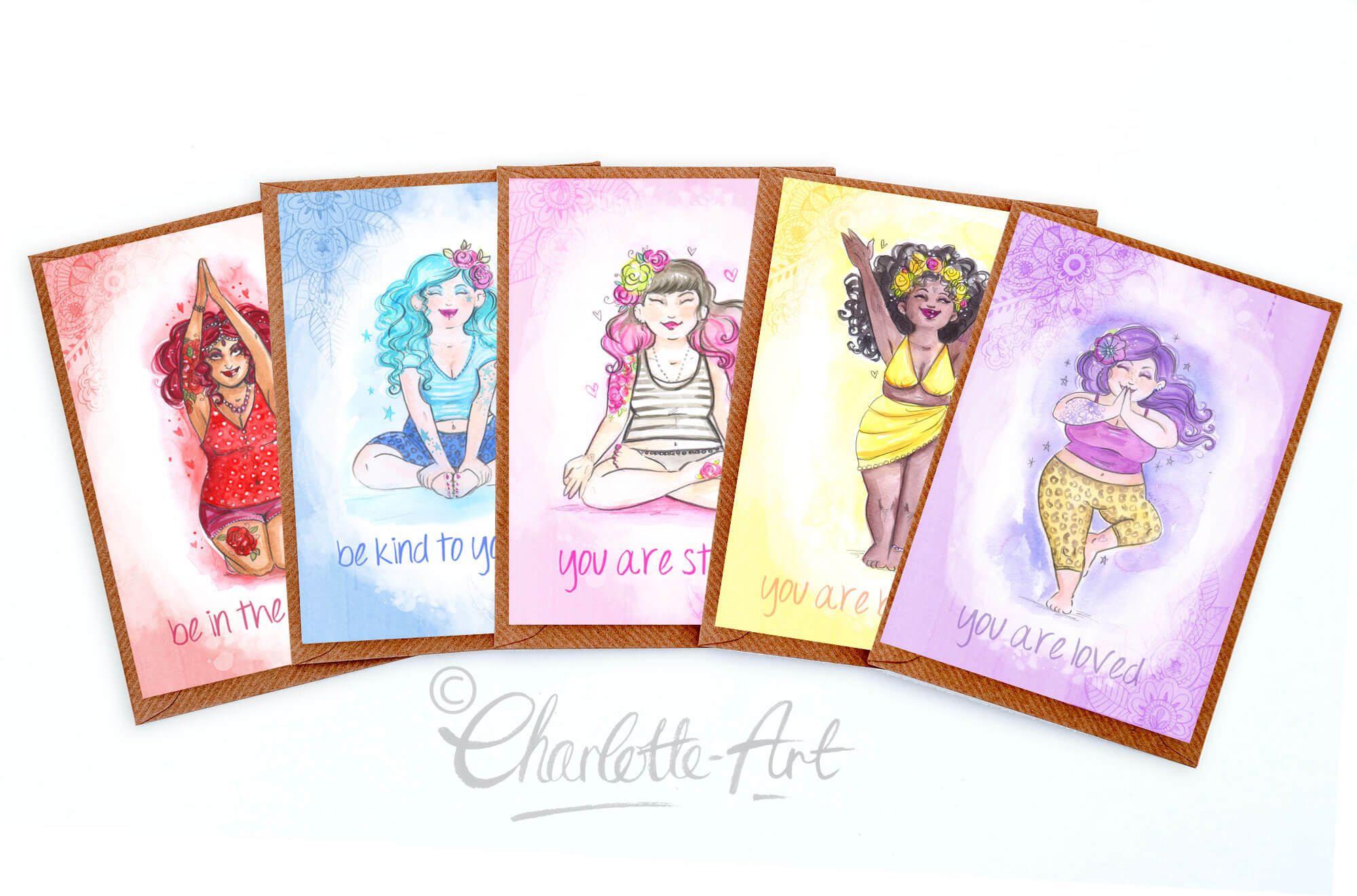 CharlotteThomsonArt-5-Card-Yoga-Set-shop